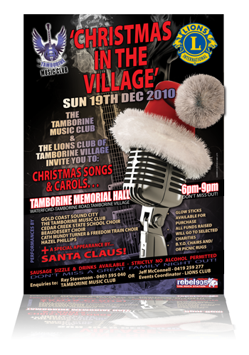 Tamborine Music Club Poster